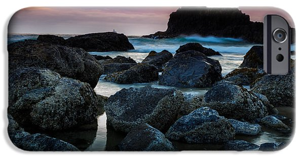 Sunset iPhone Cases - Crimson Skies iPhone Case by Rick Berk