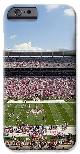 Crimson Tide A-Day Football Game at University of Alabama  iPhone Case by Carol M Highsmith