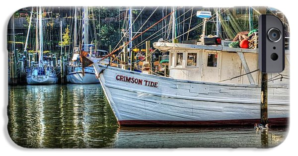 Micdesigns iPhone Cases - Crimson Tide in the Sunshine iPhone Case by Michael Thomas