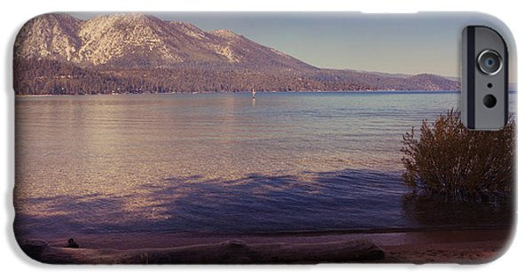Lake Tahoe iPhone Cases - Crisp and Clear iPhone Case by Laurie Search