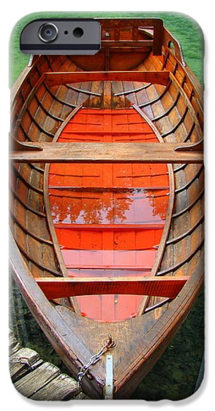 Croatian Rowboat iPhone Case by Ramona Johnston