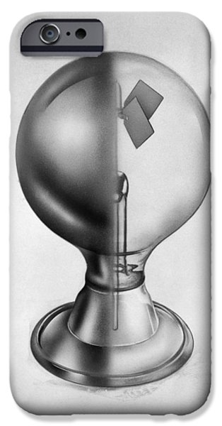 Carousel Collection iPhone Cases - Crookes Radiometer iPhone Case by Granger