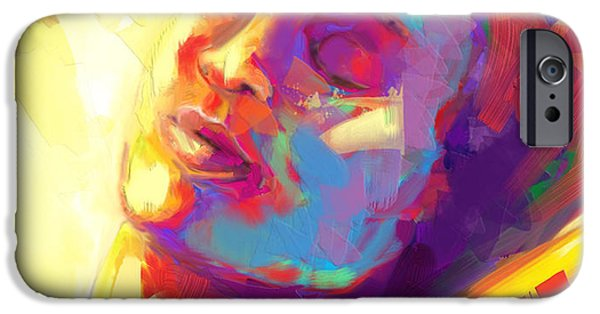 Christian Artwork Digital Art iPhone Cases - Cropped Victory Dance iPhone Case by Tamer and Cindy Elsharouni
