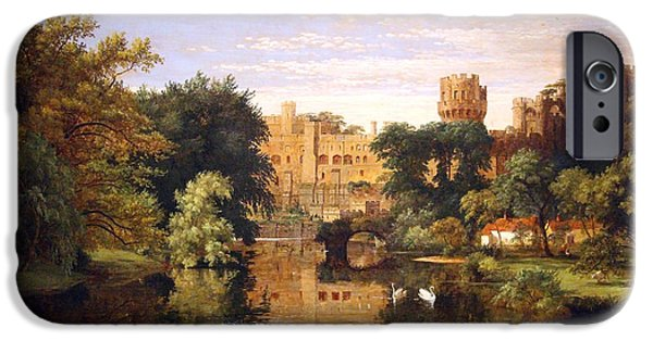 Cora Wandel iPhone Cases - Cropseys Warwick Castle In England iPhone Case by Cora Wandel