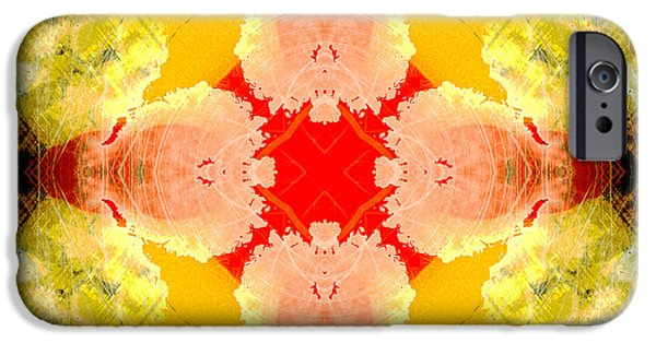 Mercy iPhone Cases - Cross of Mercy iPhone Case by David G Paul