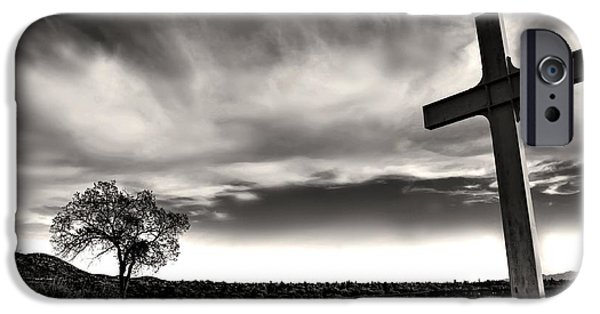 New Martyr iPhone Cases - Cross of the Martyrs iPhone Case by Diana Angstadt