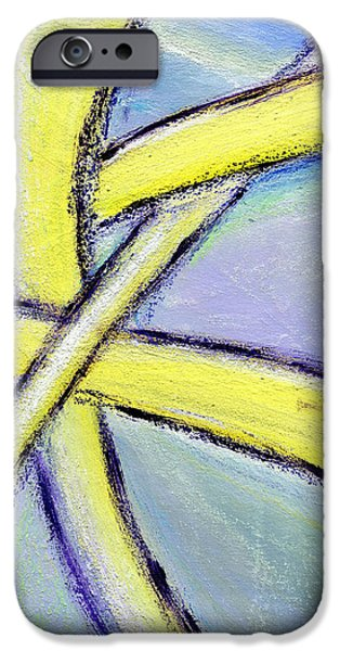 Take Over iPhone Cases - Crossed Paths 1 iPhone Case by Karyn Robinson