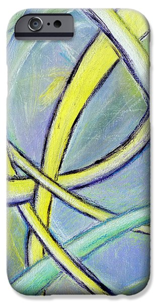 Take Over iPhone Cases - Crossed Paths iPhone Case by Karyn Robinson