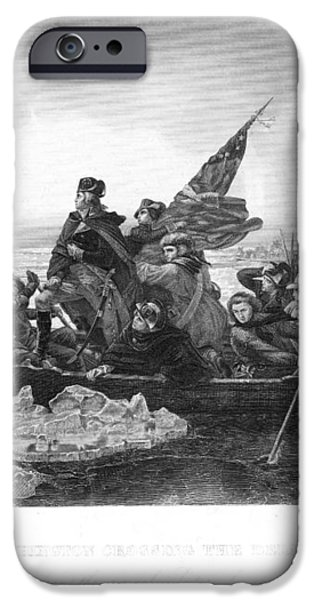 CROSSING THE DELAWARE iPhone Case by Granger