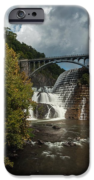 Multimedia iPhone Cases - Croton Dam Summer 1 iPhone Case by Frank Mari