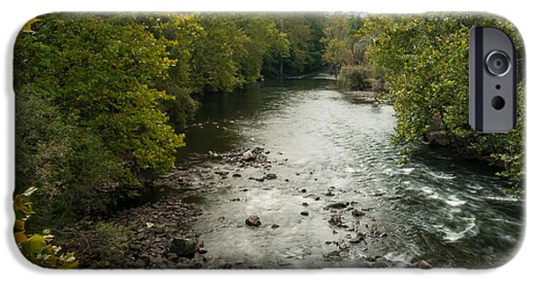 Multimedia iPhone Cases - Croton River 1 iPhone Case by Frank Mari