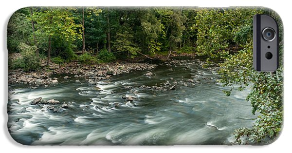 Multimedia iPhone Cases - Croton River 2 iPhone Case by Frank Mari