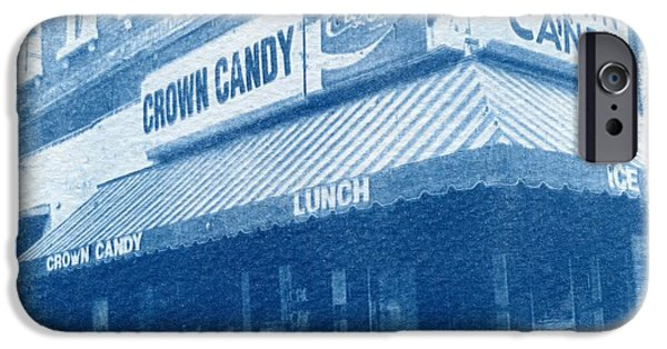 Crown iPhone Cases - Crown Candy iPhone Case by Jane Linders