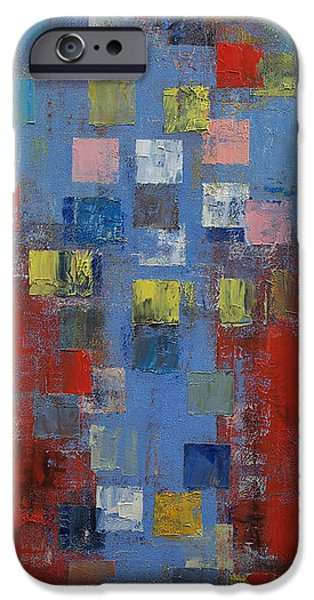 Michael Paintings iPhone Cases - Cross iPhone Case by Michael Creese