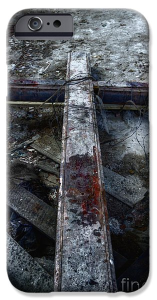 Crucifixion iPhone Case by Margie Hurwich