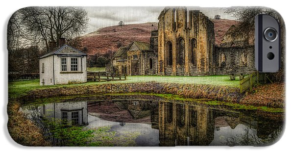13th Century iPhone Cases - Crucis Abbey iPhone Case by Adrian Evans