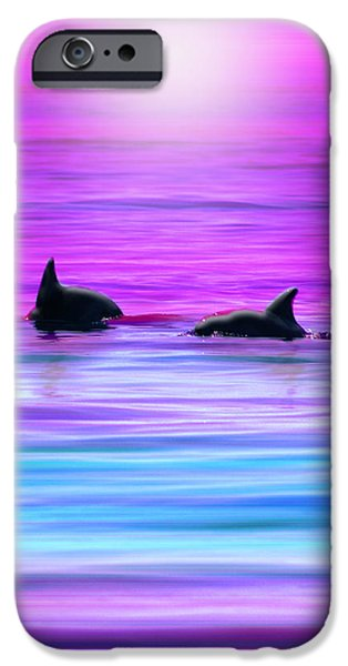 Cruisin' Together iPhone Case by Holly Kempe