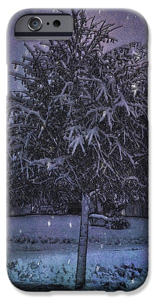 Printmaking iPhone Cases - Crystal Casting iPhone Case by Jo-Anne Gazo-McKim