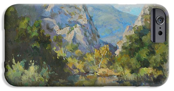 Malibu Paintings iPhone Cases - Crystal Malibu iPhone Case by Alfred Tse