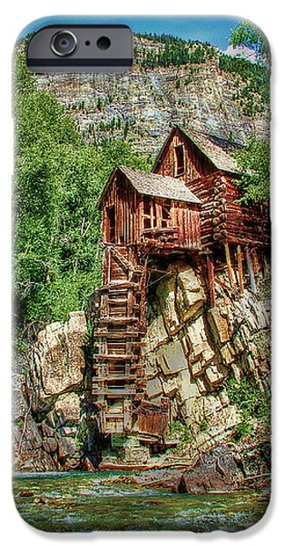 Crystal Mill Crystal Colorado iPhone Case by Ken Smith