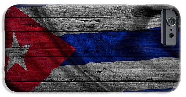 Cuba iPhone Cases - Cuba iPhone Case by Joe Hamilton