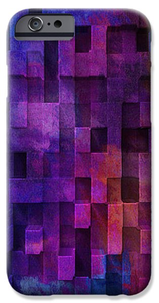 Cubed 2 iPhone Case by Jack Zulli