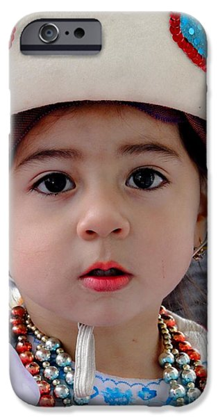 Christmas Eve iPhone Cases - Cuenca Kids 379 iPhone Case by Al Bourassa