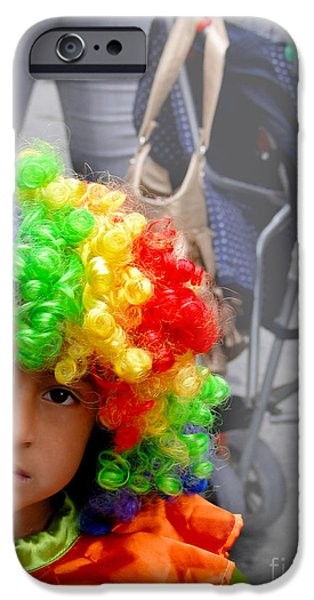 Christmas Eve iPhone Cases - Cuenca Kids 579 iPhone Case by Al Bourassa