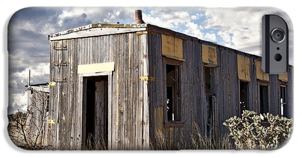 Best Sellers -  - Cabin Window iPhone Cases - Cuervo Wide iPhone Case by Lee Craig
