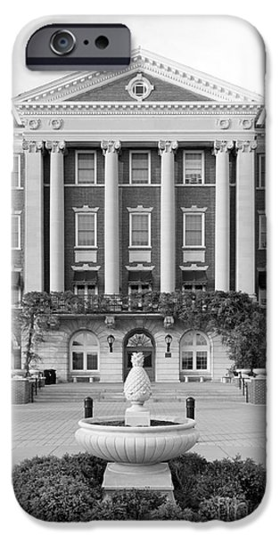 Honorarium iPhone Cases - Culinary Institute of America Roth Hall iPhone Case by University Icons