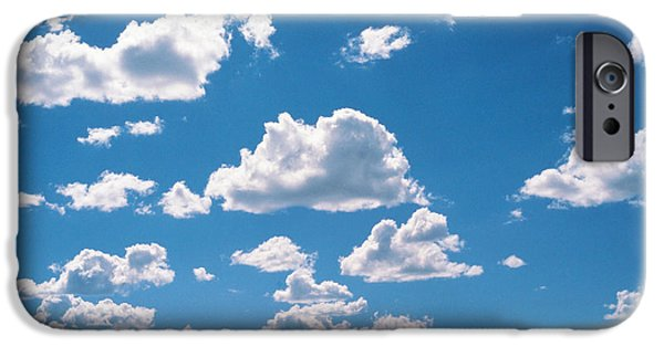 Freedom iPhone Cases - Cumulus Clouds iPhone Case by Panoramic Images