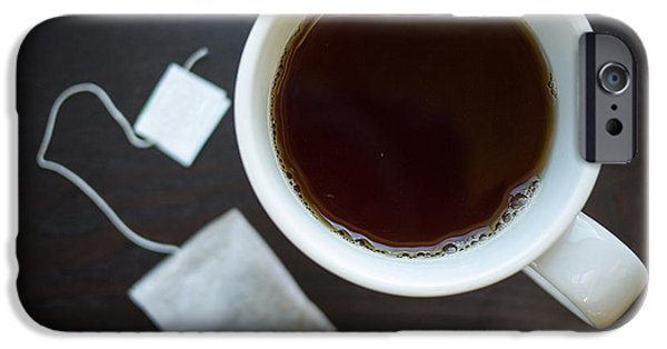 Tea Cup iPhone Cases - Cup of Tea iPhone Case by Edward Fielding