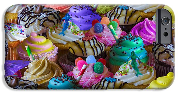 Berry Digital iPhone Cases - Cupcake Galore iPhone Case by Aimee Stewart