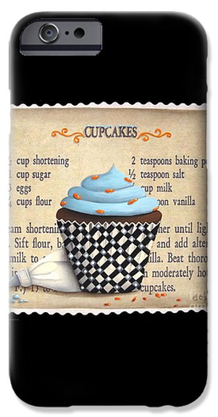 Cupcake Masterpiece iPhone Case by Catherine Holman