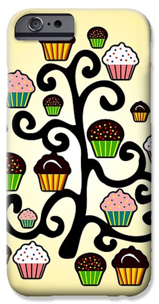 Recently Sold -  - Child iPhone Cases - Cupcake Tree iPhone Case by Anastasiya Malakhova