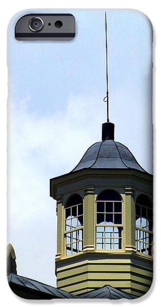 Cupola Chimneys Charleston iPhone Case by Randall Weidner