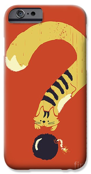curiosity kills iPhone Case by Budi Kwan