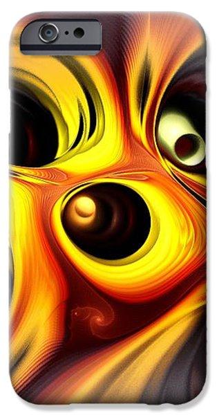 Curious iPhone Case by Anastasiya Malakhova