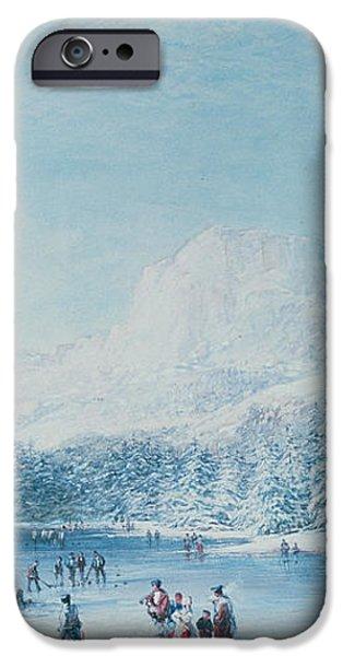 Curling iPhone Case by Bernard Walter Evans
