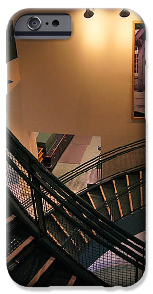 Curly's Stairway iPhone Case by Bill Pevlor