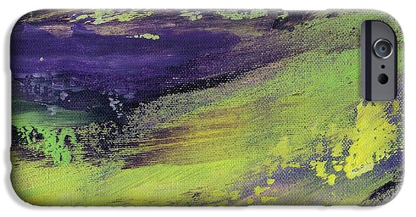 Free Form Paintings iPhone Cases - Currents I iPhone Case by Patricia Jaggie