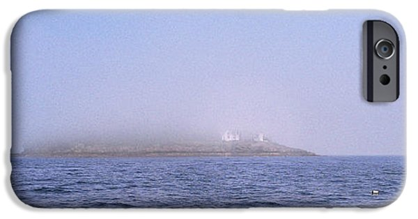 Midcoast iPhone Cases - Curtis Island Fog Lifting iPhone Case by Marty Saccone
