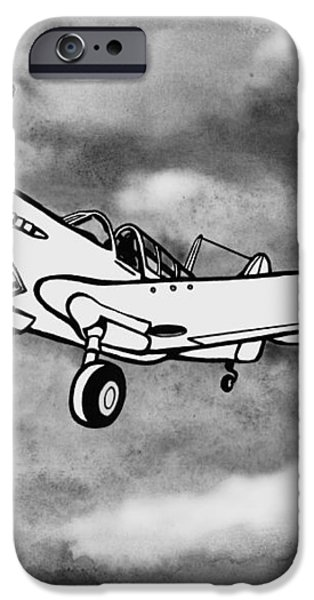 Curtiss P-40 Warhawk 2 iPhone Case by Scott Nelson