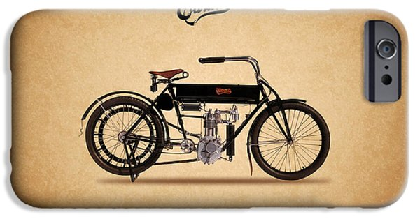 Curtiss iPhone Cases - Curtiss Single 1908 iPhone Case by Mark Rogan