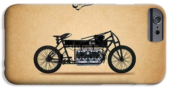 Curtiss iPhone Cases - Curtiss V8 1907 iPhone Case by Mark Rogan
