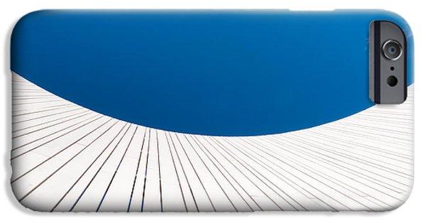 Curve iPhone Cases - Curve Three iPhone Case by Wim Lanclus
