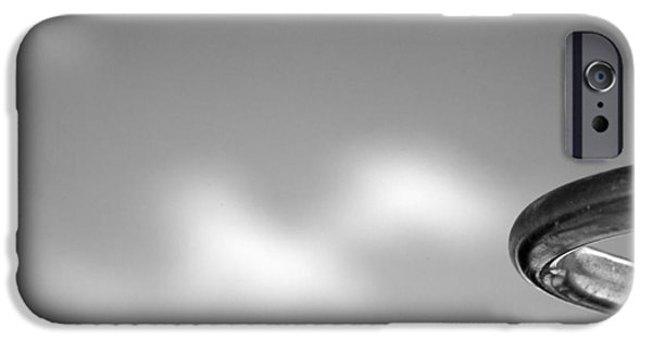 Stainless Steel Photographs iPhone Cases - Curved iPhone Case by Peter Tellone