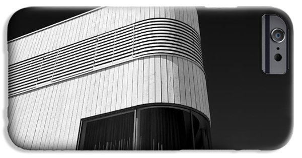 Monotone iPhone Cases - Curved Window iPhone Case by Dave Bowman
