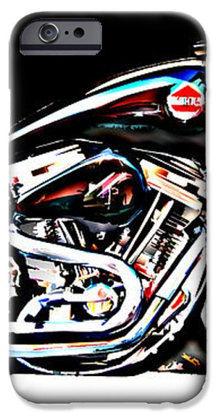 Custom Bike Study 1 iPhone Case by Samuel Sheats