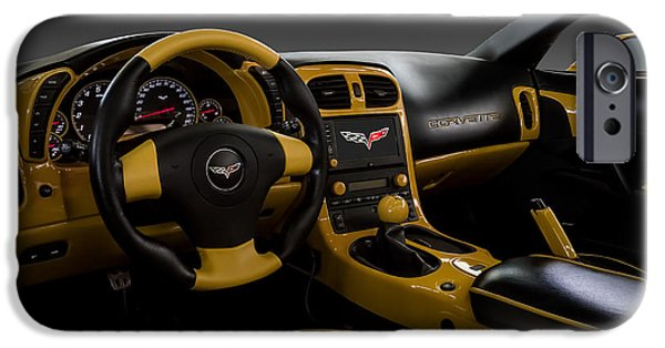 Yellow Digital iPhone Cases - Custom Interior iPhone Case by Douglas Pittman